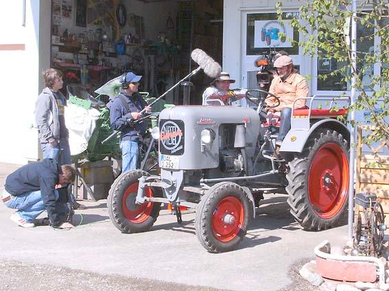 Magazin Freizeit Der Schmidt Max und die Traktoren