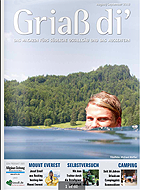 Titelseite Griaß di' August/September 2013
