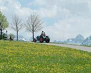 Panorama am Anstieg nach Oberdolden
