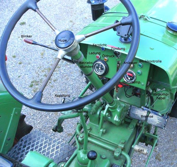 Cockpit Fendt Dieselross F17L