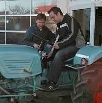 Traktor-Einweisung